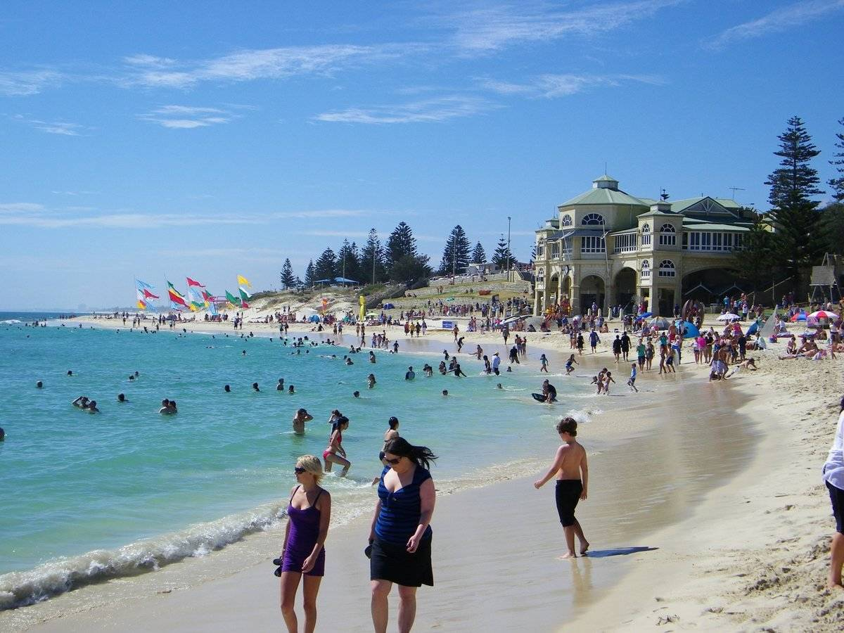 wa best beaches for families out about with kids
