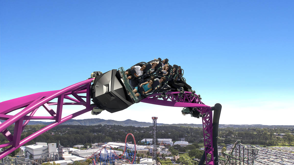 The DC Rivals Hypercoaster will make you scream.
