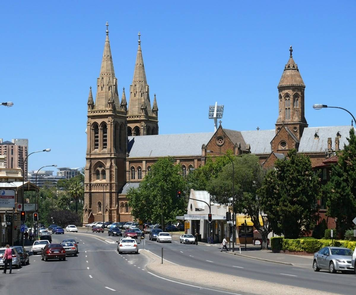 Adelaide's beautiful architecture has earned its nickname, the 'City of Churches'