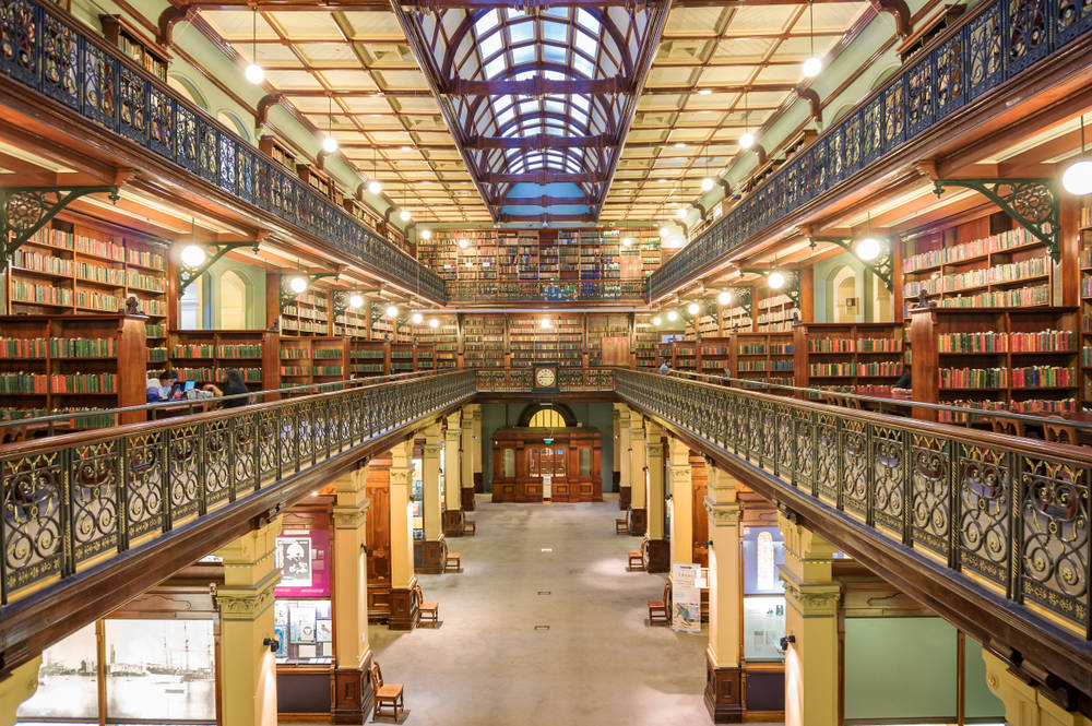 Adelaide State Library feels like Hogwarts!