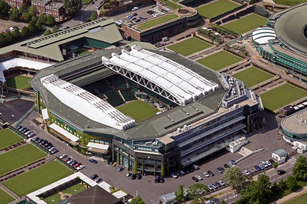 You can take a tour through world-famous Wimbeldon.