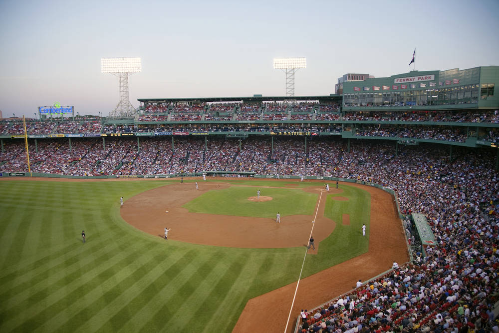 Fenway Park - home to the famous Boston Red Sox.