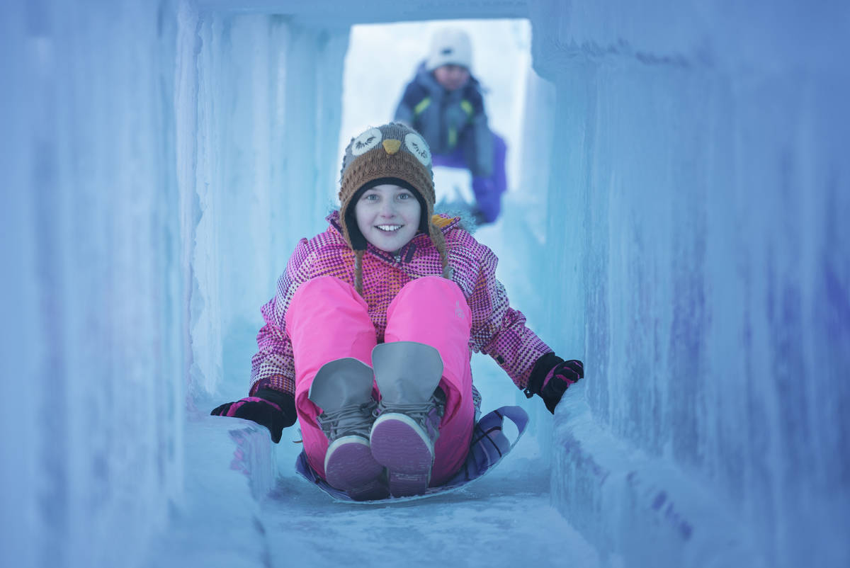 Ice Castles is coming to New Zealand.