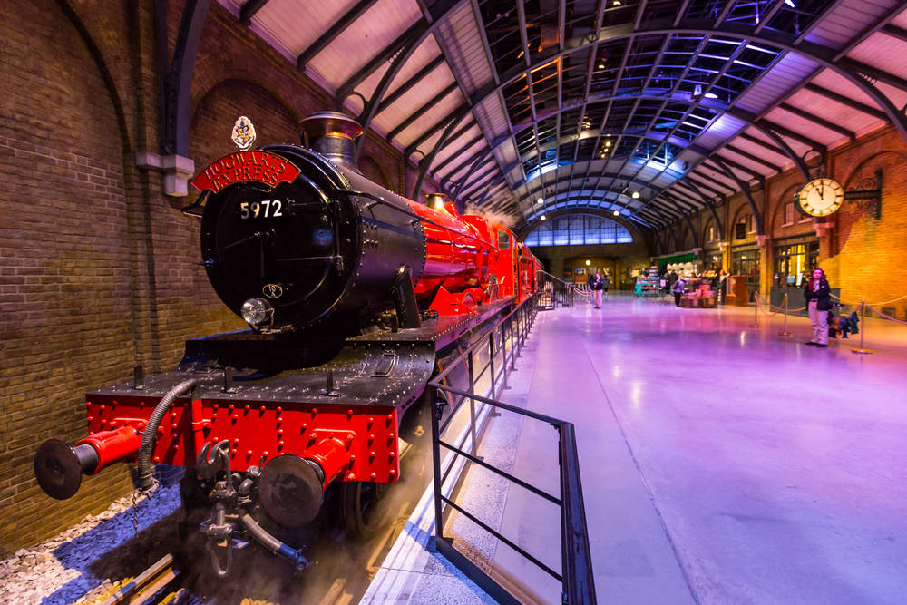 Harry Potter fans will love the studio tour in London.